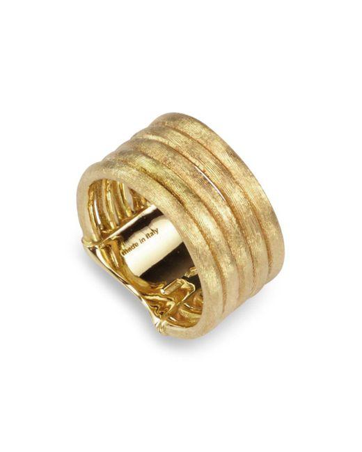 Marco Bicego - Metallic Jaipur Link Five Row Ring - Lyst