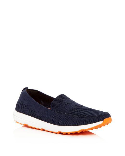Swims - Blue Men's Breeze Leap Knit Loafers for Men - Lyst