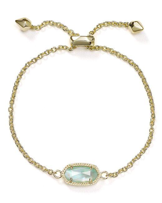 Kendra Scott Multicolor Elaina Birthstone Bracelet