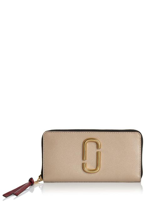 Marc Jacobs - Multicolor Snapshot Standard Leather Continental Wallet - Lyst