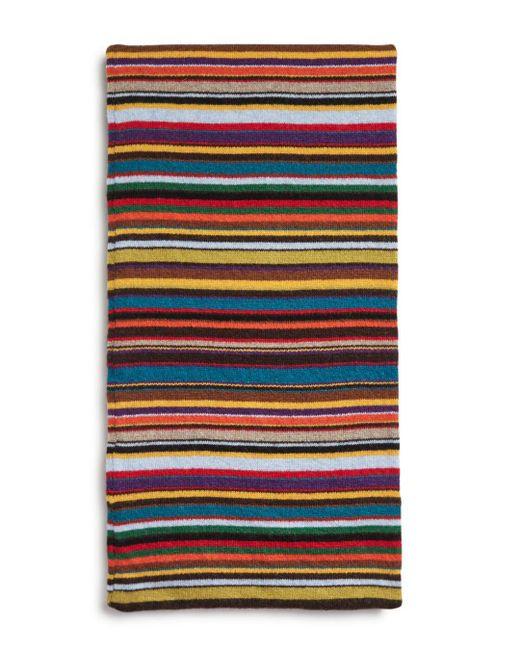 Paul Smith - Multicolor Multi-striped Scarf for Men - Lyst
