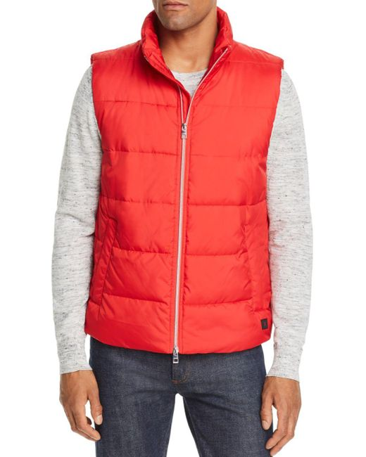 Michael Kors Red Tech Vest for men