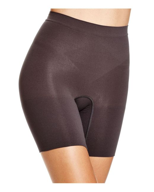 Spanx | Black Power Shorts | Lyst