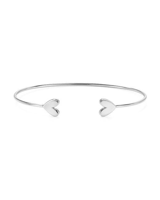 Argento Vivo - Metallic Heart Cuff Bracelet - Lyst