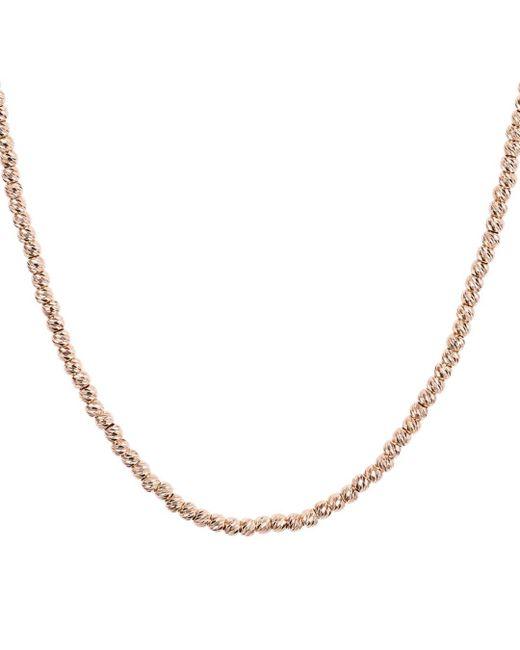 Aqua Metallic Sterling Sparkle Necklace