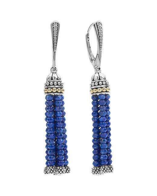 Lagos | Blue Caviar Icon Tassel Drop Earrings | Lyst