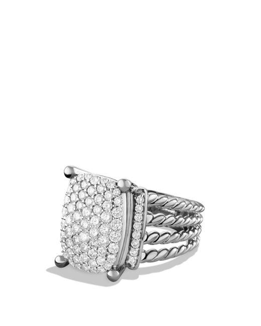 David Yurman - Metallic Wheaton Ring With Diamonds - Lyst