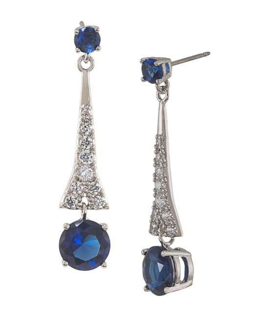 Carolee - Multicolor Linear Drop Earrings - Lyst
