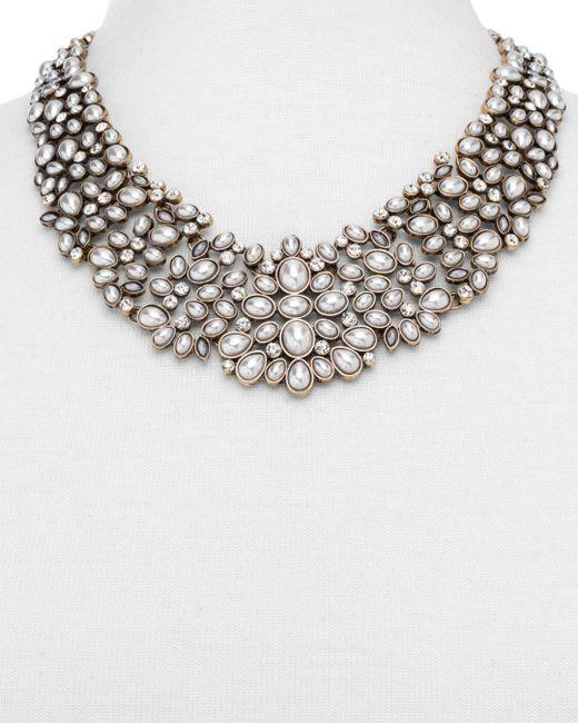 BaubleBar Metallic Kew Collar Statement Necklace