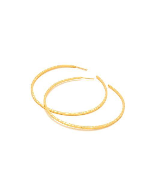 Gorjana | Metallic Taner Hoop Earrings | Lyst