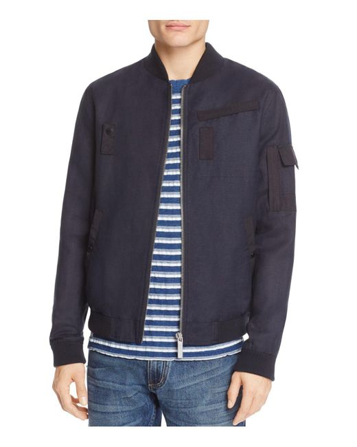 Native Youth | Blue Seaton Bomber Jacket for Men | Lyst