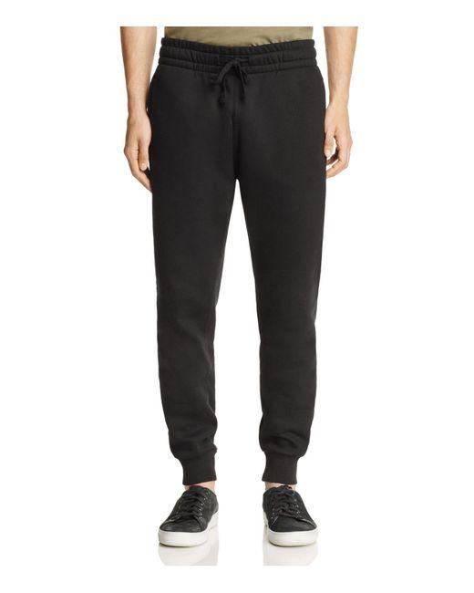 Uniform | Black Fleece Joggers for Men | Lyst