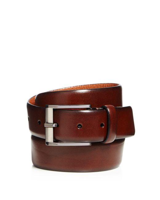 Trafalgar | Brown Matteo French Calf Leather Belt for Men | Lyst
