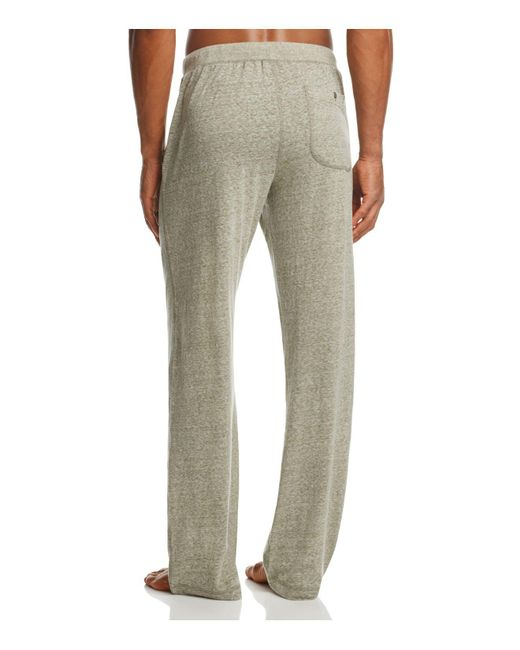 Lyst Daniel Buchler Recycled Cotton Lounge Trousers For Men