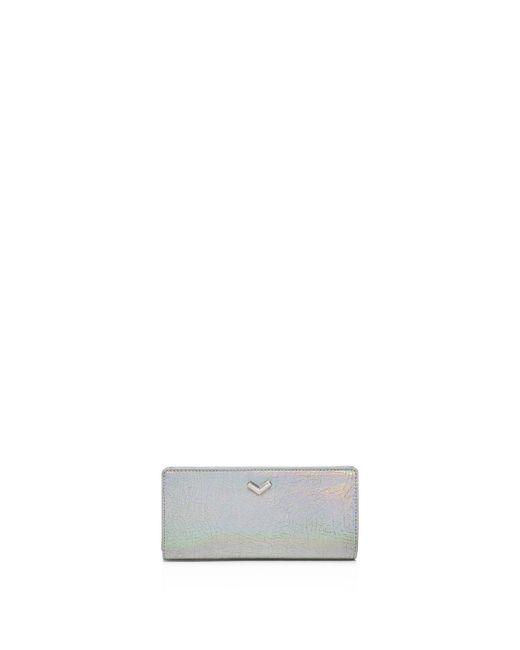 Botkier | Soho Snap Metallic Leather Wallet | Lyst