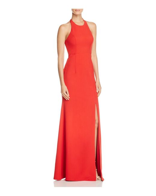 Bariano | Red Datura Fishtail Gown | Lyst