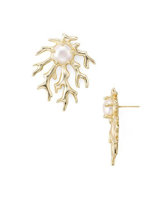 Kendra Scott | Metallic Hattie Earrings | Lyst