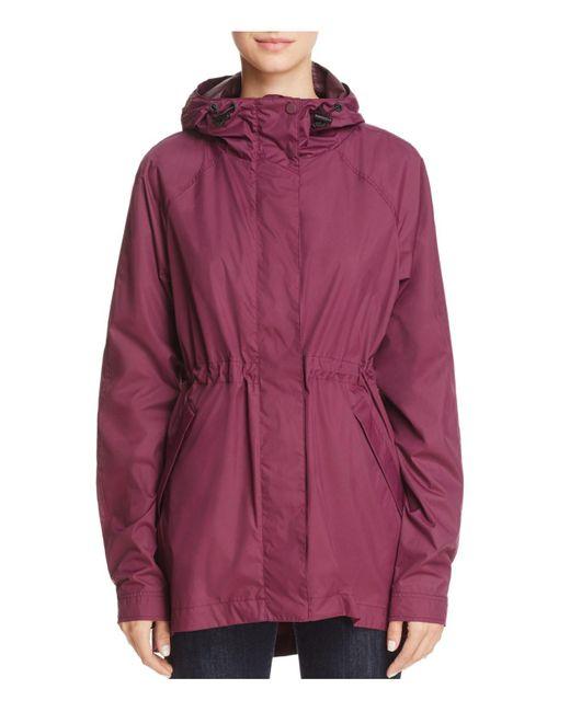 Hunter | Red The Original Packable Lightweight Raincoat | Lyst