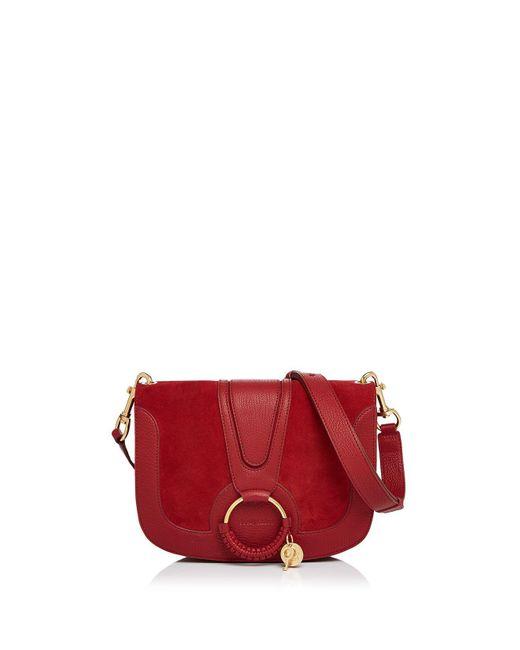 See By Chloé | Multicolor Hana Suede Shoulder Bag | Lyst