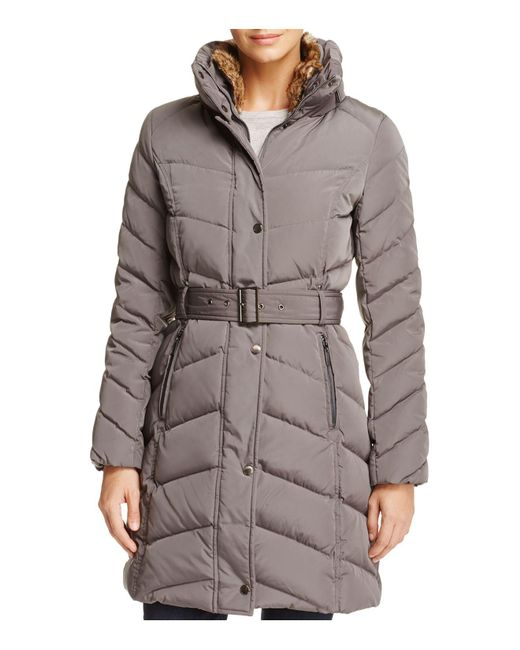 Cole Haan   Multicolor Stand Collar Puffer Coat   Lyst