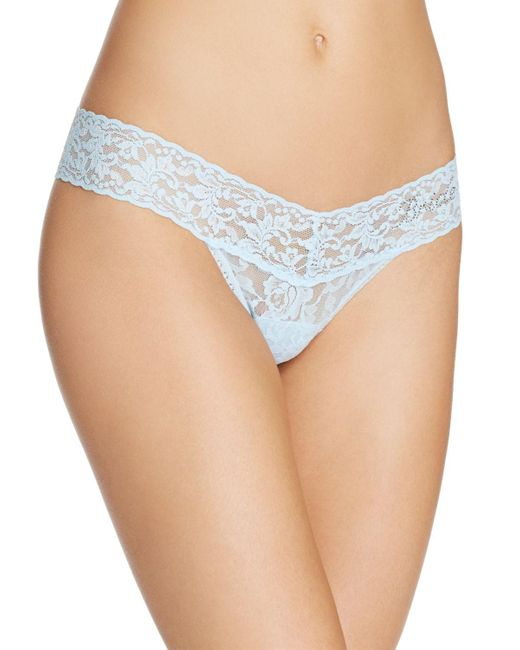 Hanky Panky | Natural Bride Low-rise Thong #491041 | Lyst
