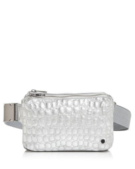 State Lorimer Mini Metallic Belt Bag