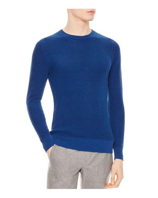 Sandro - Blue Celest Sweater for Men - Lyst