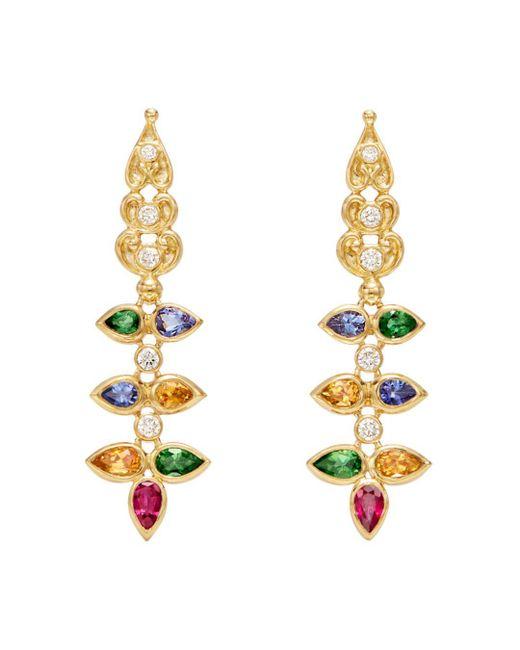 Temple St. Clair - Metallic Ruby & Multi Gemstone Earrings - Lyst