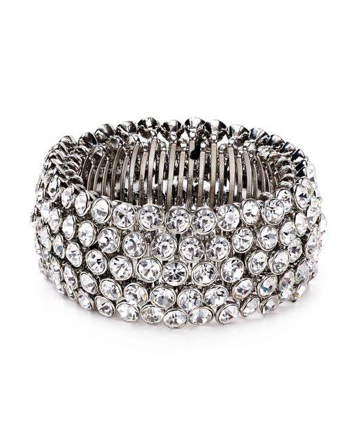 Carolee - Metallic Stretch Bracelet - Lyst
