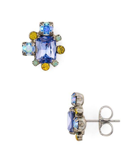 Sorrelli - Multicolor Stud Earrings - Lyst