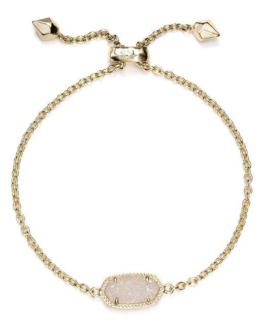 Kendra Scott - Metallic Elaina Drusy Bracelet - Lyst