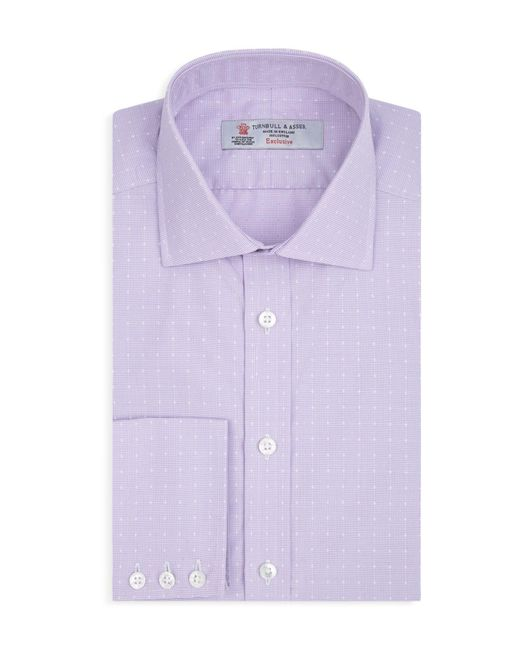 Turnbull & Asser | Purple Dot Regular Fit Dress Shirt for Men | Lyst