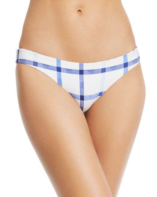 Red Carter Blue Key Biscayne Elle Bikini Bottom