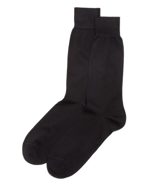 Bloomingdale's Black The Men's Store At Bloomingdales Cotton Blend Dress Socks for men