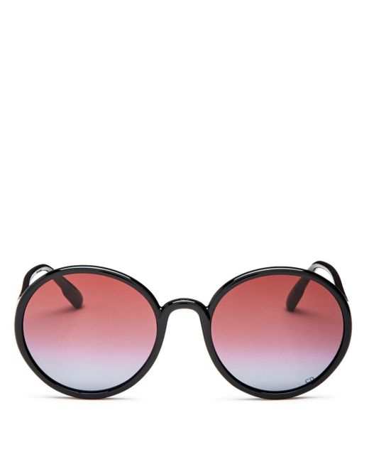 Dior Multicolor Women's Stellaire Round Sunglasses