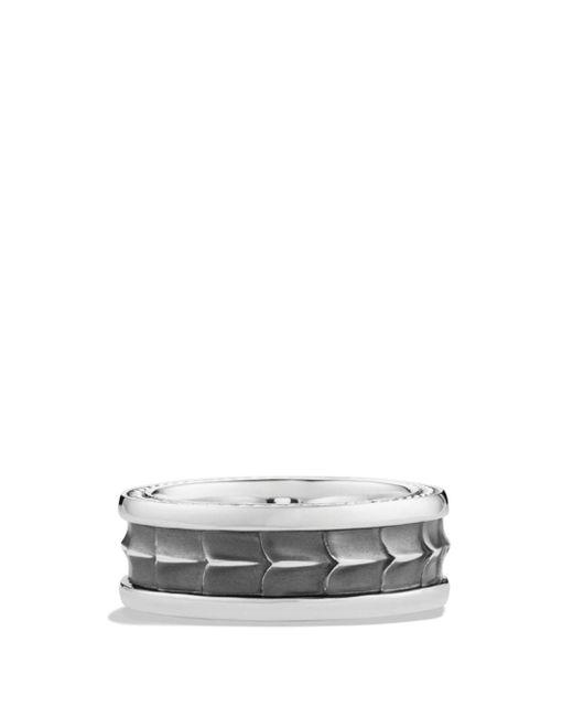 David Yurman - Metallic Armory Narrow Band Ring for Men - Lyst