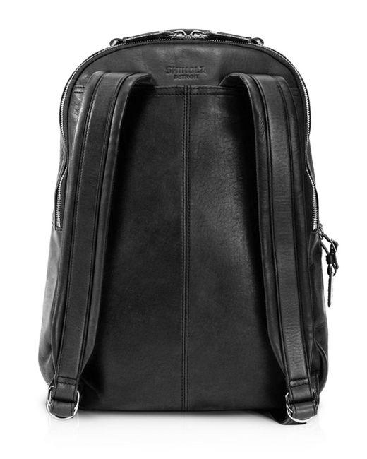 Shinola Blue Runwell Backpack for men