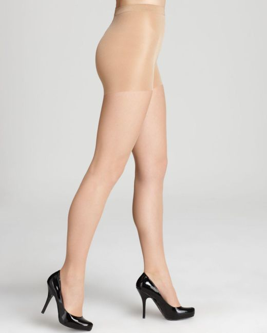 Wolford Brown Individual 10 Control Top Tights