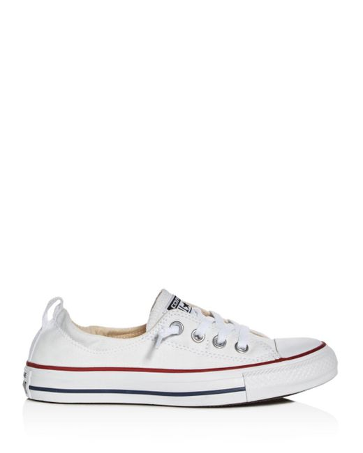 a9d1b233858bc3 ... Lyst Converse - White Women s Chuck Taylor All Star Shoreline Slip-on  Sneakers ...