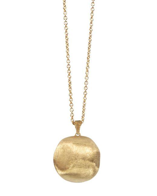 Marco Bicego Metallic 18k Yellow Gold Africa Bead Necklace