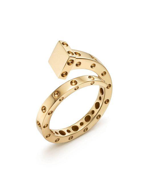 Roberto Coin | Metallic 18k Yellow Gold Pois Moi Chiodo Ring | Lyst
