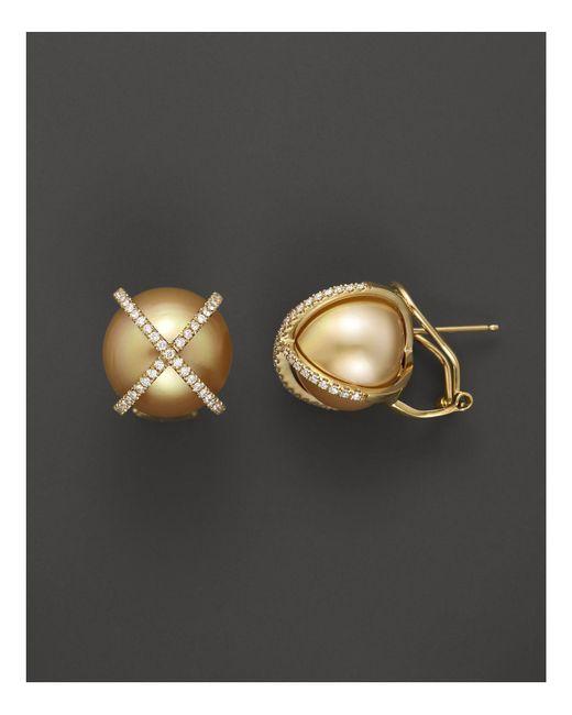 Tara Pearls | Metallic 14mm | Lyst