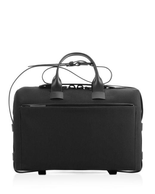 Troubadour Black Slim Briefcase for men