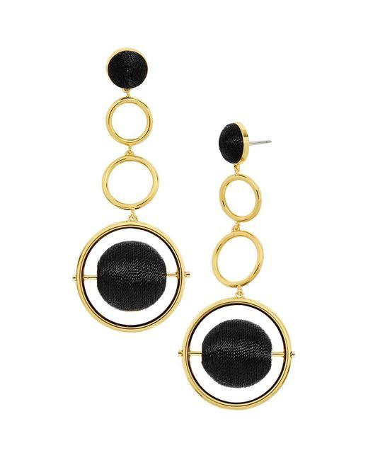 BaubleBar | Black Marcia Drop Earrings | Lyst