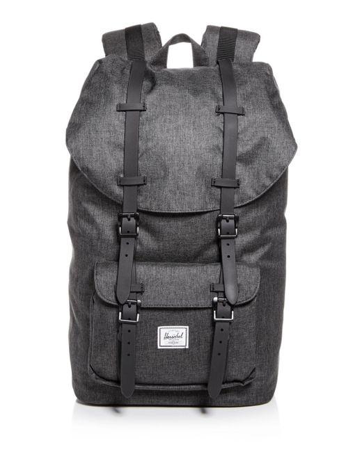 Herschel Supply Co. Black Classic Little America Backpack for men