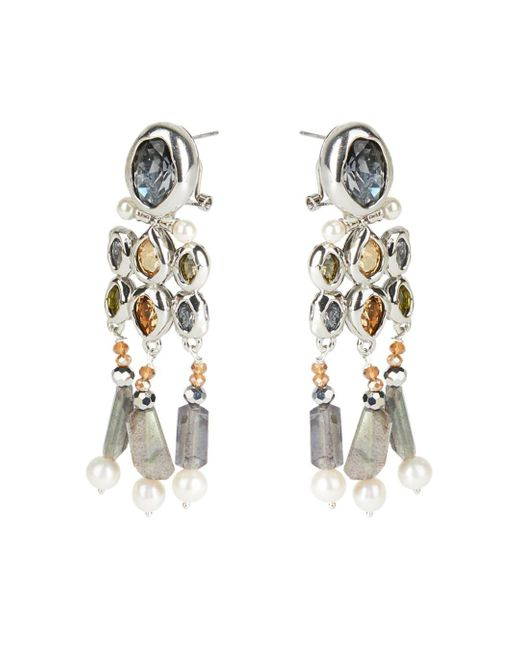 Alexis Bittar Metallic Future Antiquity Multi - Crystal