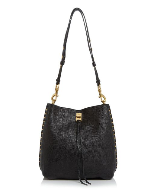 Rebecca Minkoff - Black Darren Leather Shoulder Bag - Lyst