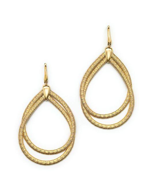 Marco Bicego Metallic 18k Yellow Gold Cairo Drop Earrings