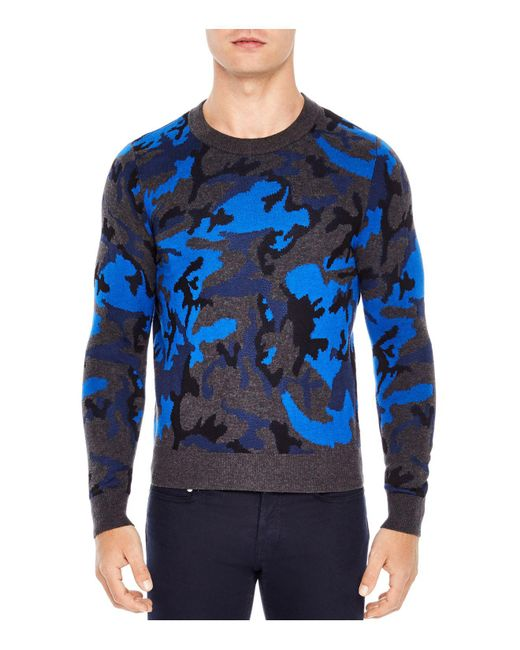 Sandro | Blue Enigma Sweater for Men | Lyst