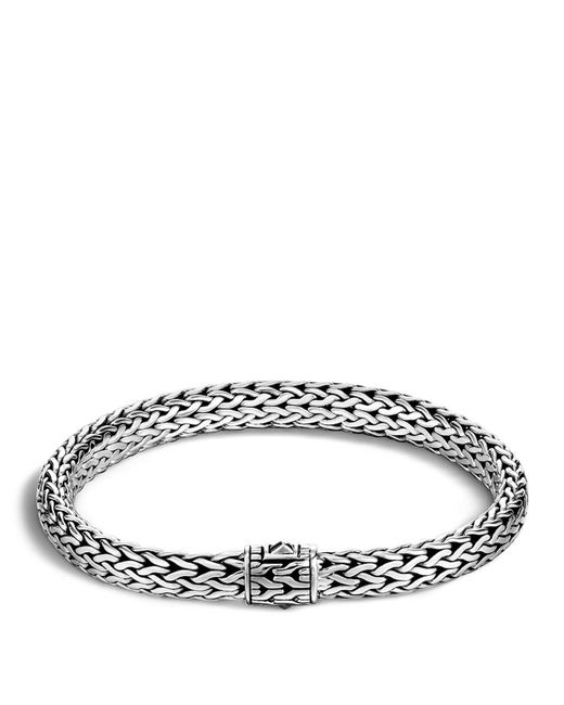 John Hardy   Metallic Classic Chain Sterling Silver Medium Bracelet   Lyst